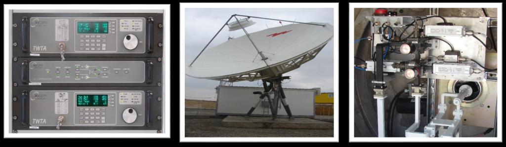 فرستنده های ماهواره ای